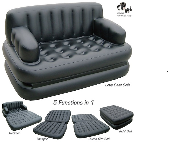 5 in 1 air sofa bed in nepal for Home furniture online nepal
