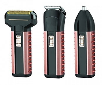 3 in 1 Rechargeable Shaver Trimmer Groomer Gemei GM-789