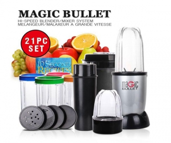 Magic Bullet 21-Piece Mixer/Blender