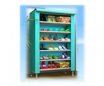 Shoe Rack and Wardrobe 6 Layer
