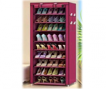 Shoe Rack and Wardrobe 9 Layer