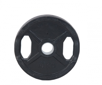Black Rubber Plates with Three Handles