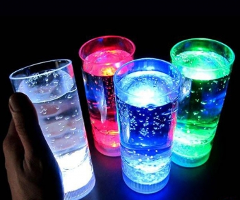 Party Time with Light Effects Glass 6pcs Set